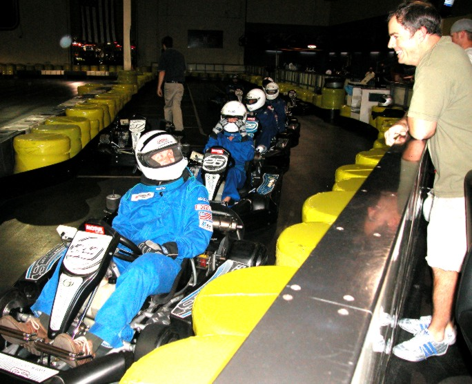 how to get fast lap times go kart
